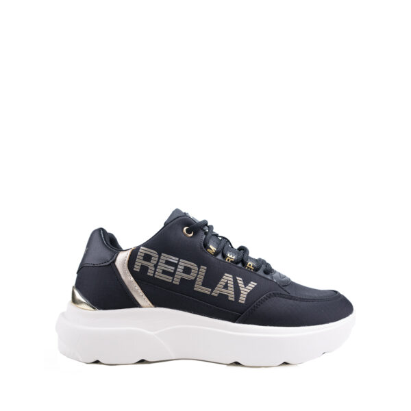 Sneakers Donna in tessuto con logo REPLAY RS3R0002T