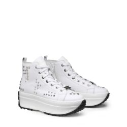 Sneakers Donna in pelle platform CULT CLW315406