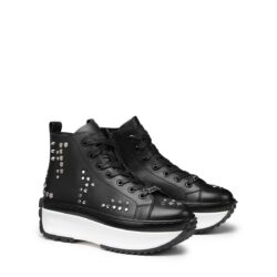 Sneakers Donna in pelle platform CULT CLW315407