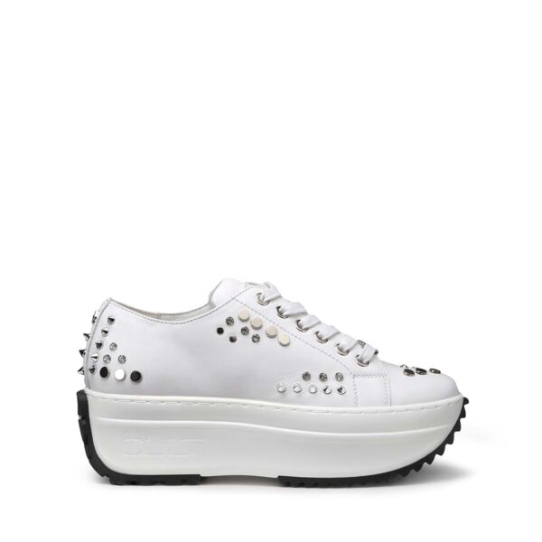 Sneakers Donna in pelle con borchie CULT CLW334300