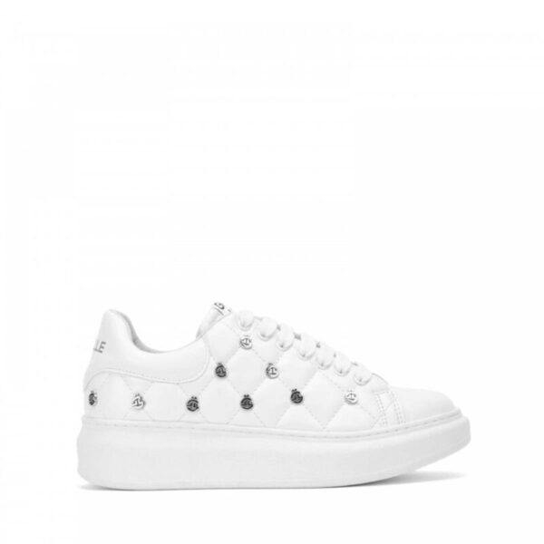 Sneakers Donna in ecopelle trapuntate GAELLE GBDS2257