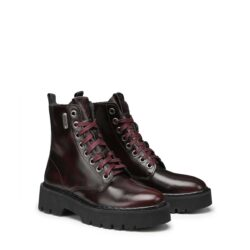 Anfibi Donna in pelle OXS OXW101901