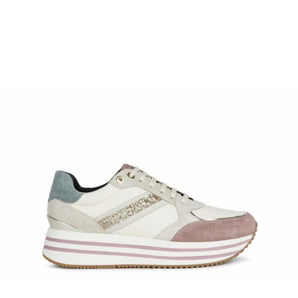 Sneakers Donna in nappa GEOX D16QHB